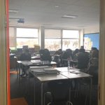 Image for the Tweet beginning: Students are focused in GCSE