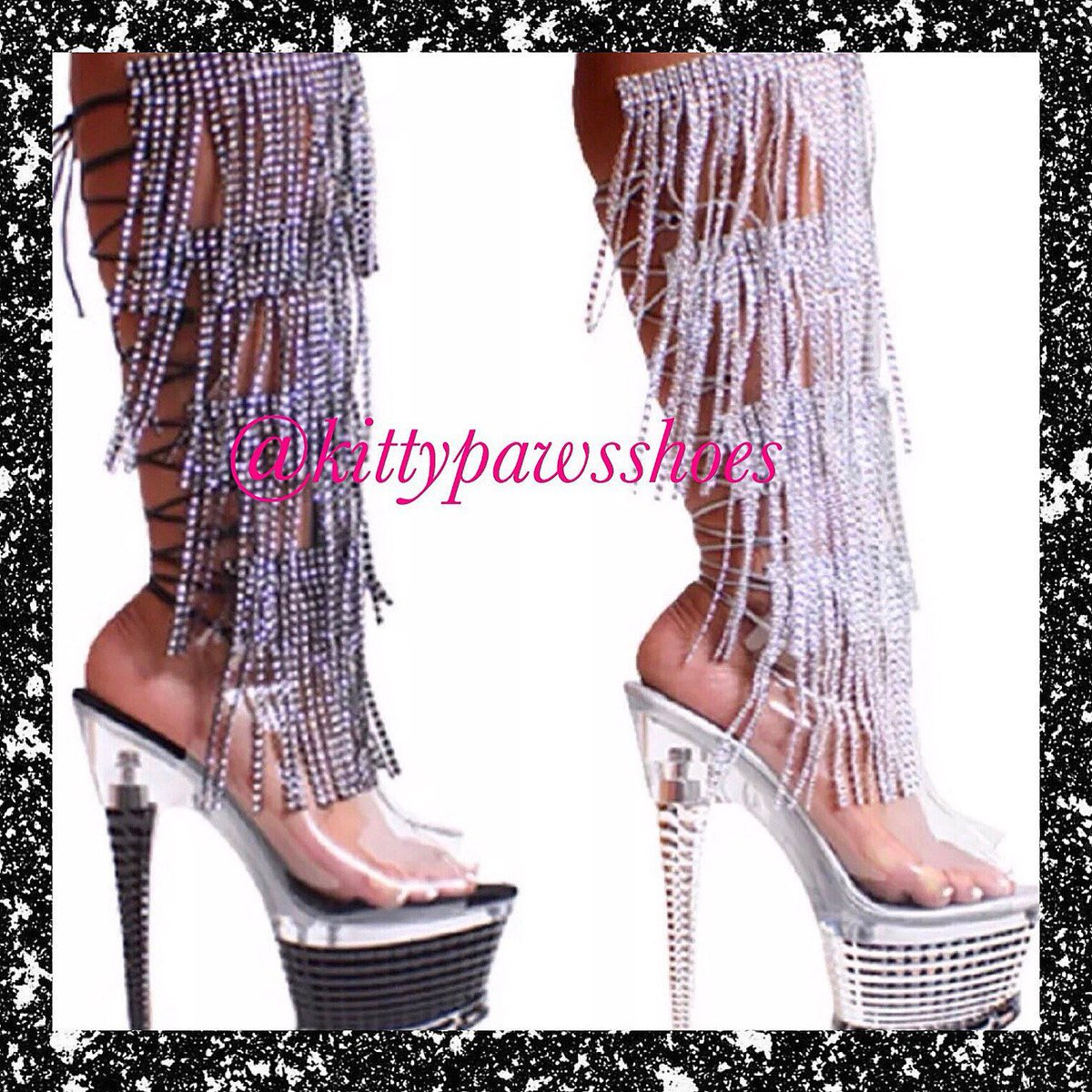 44aef96ee Excited to share this item from my  etsy shop  Stripper Boot Heels Women s  Custom