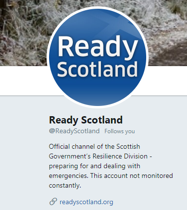 test Twitter Media - Need any info or helpful tips for handling an emergency situation this winter?  Ready Scotland is an extremely useful site to help you prepare and take action this winter! Keep you and your loved ones safe  Click here 👉 https://t.co/xad7HQc7kp https://t.co/HZMJbxA1gp
