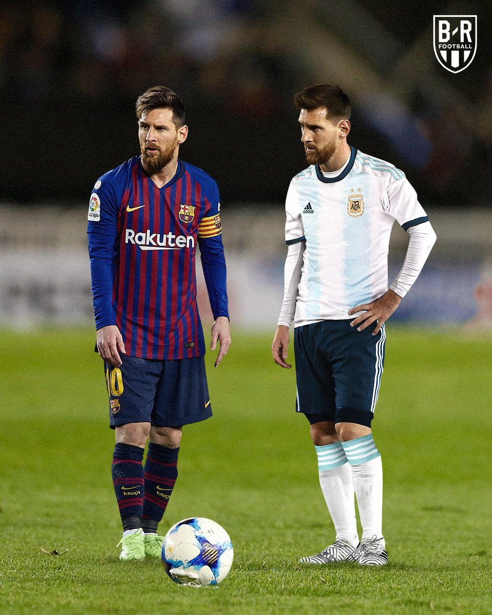 Real witchcraft is when Barcelona decides to keep the real Messi and then send a Chinese Messi to play for Argentina  <br>http://pic.twitter.com/IAyU3r4oak