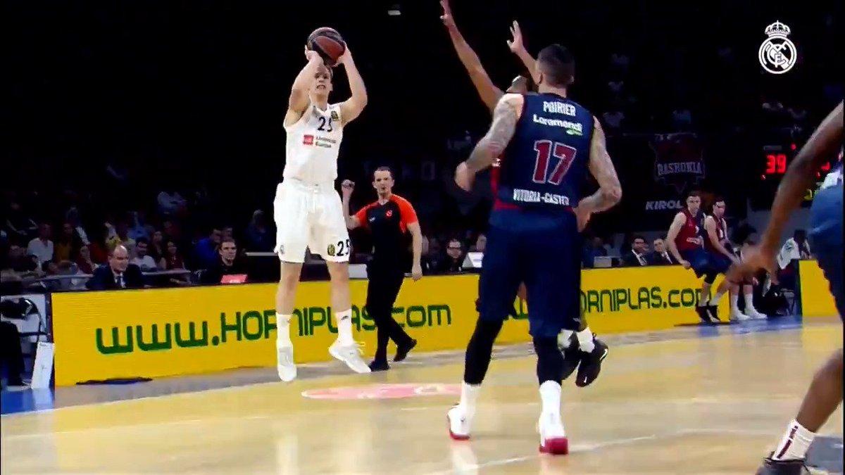 🏀 Ayer jugamos la jornada 28 de @EuroLeague en el Buesa Arena. Así fue el partido.   #RMBaloncesto