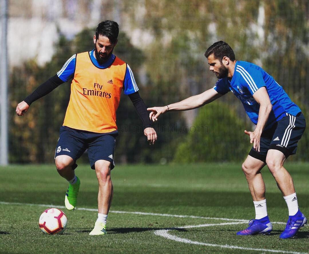 Entrenamiento del viernes con el Real Madrid Castilla. Continúa el equipo poniéndose a punto. #HalaMadrid #RMCity