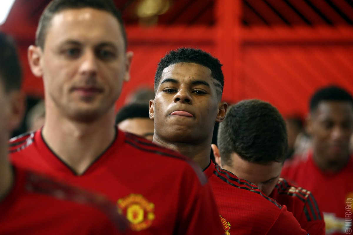 👀 Tunnel vision.   What would be going through your mind if you were about to play in a huge #MUFC game at Old Trafford? 👇
