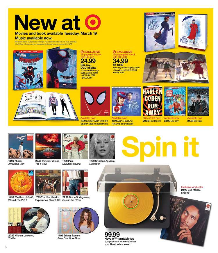 The #BabyOneMoreTime @britneyspears #Vinyl Is In This Week&#39;s @Target Ad! It&#39;s On Sale For $19.99! Slayed! #BritneySpears<br>http://pic.twitter.com/FC2x62qhRC