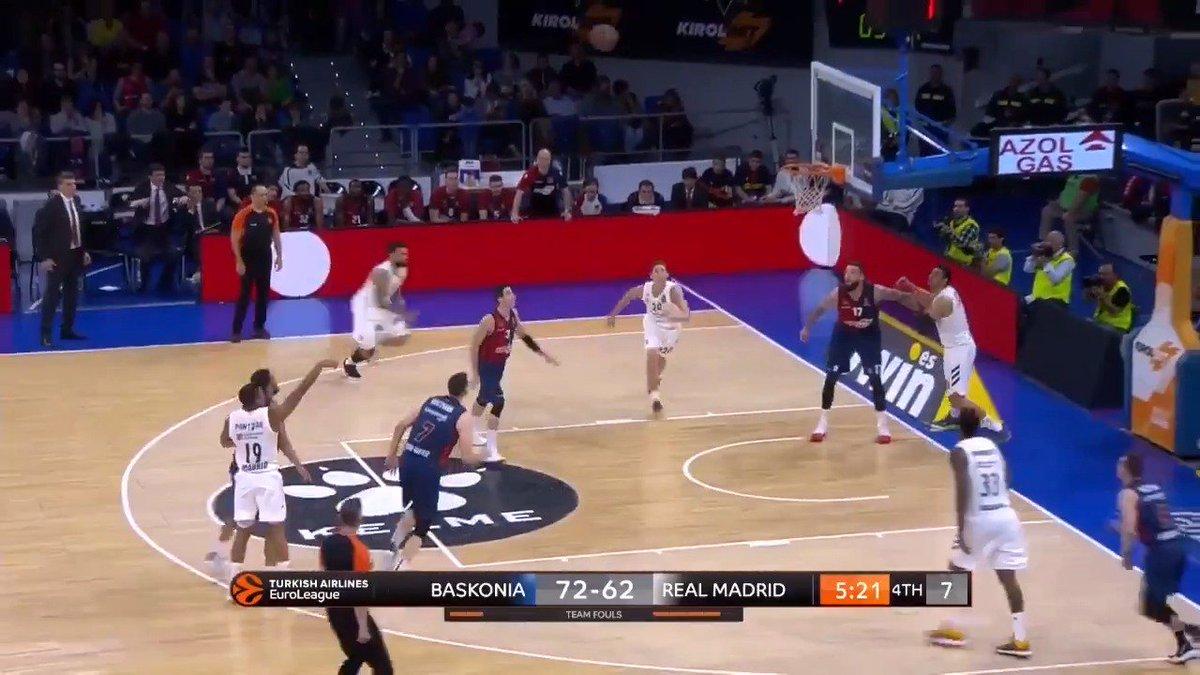 👌⛹️♂️ Así fue el debut de @MelwinPantzar en @EuroLeague.