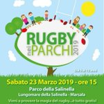 "Image for the Tweet beginning: Questo pomeriggio a Marsala ""Rugby"