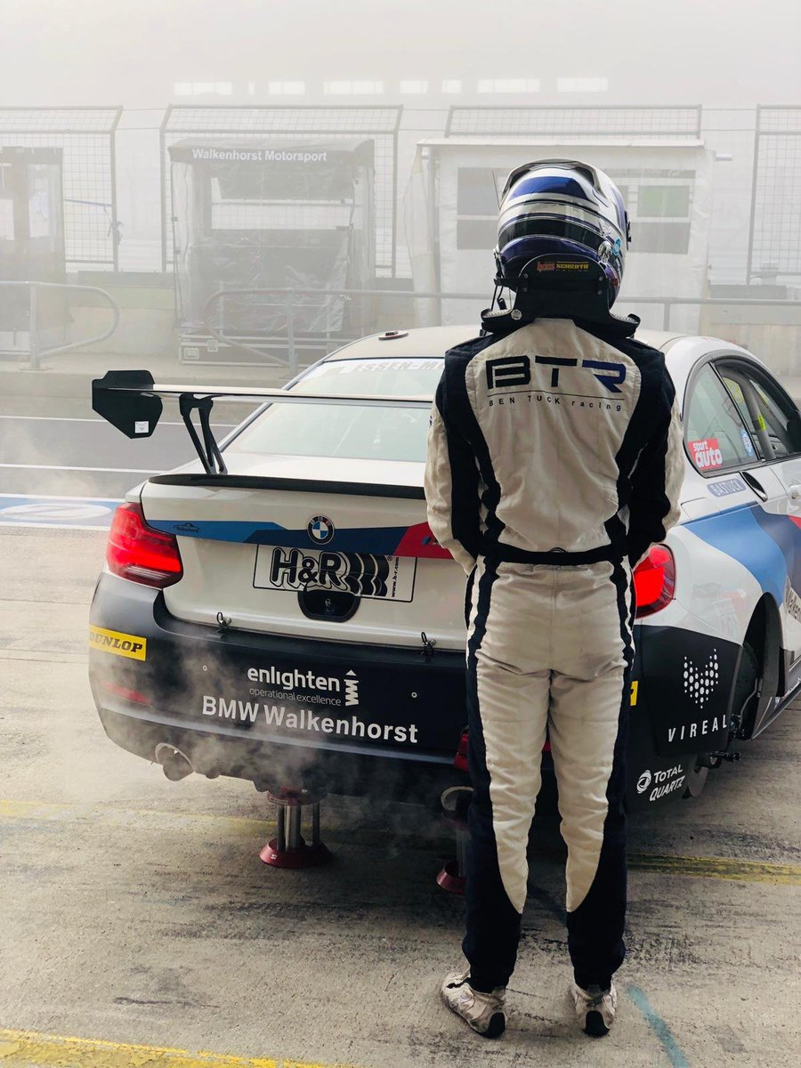 Long delays here as the fog is not clearing up. We'll hopefully get an updated timetable soon..   The GPS Auge app gives the GPS location for each car, we are car 682! https://t.co/t6T92QuMy8  There is also timing and live stream on the VLN website: https://t.co/XlV1ExK6lO