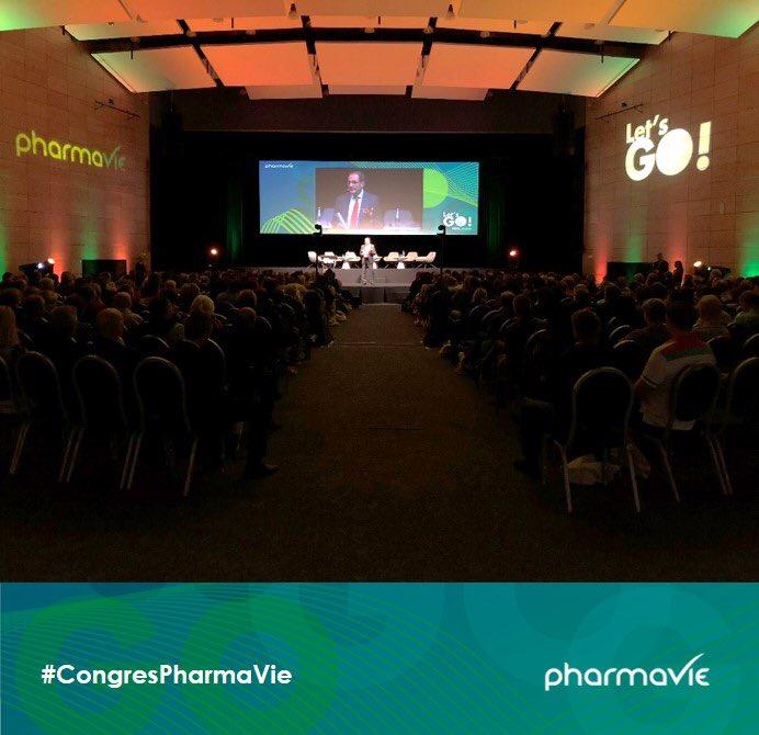 « Certif. qualité, PDA au comptoir, interprofessionnalité, #telemedecine, onco PharmaVie, nos actions font de vous le groupement que avez toujours été, celui qui a toujours un temps d'avance!»Jean Fabre, Président @PHOENIXPharmaFr & PDG PharmaVie inaugure le #CongresPharmaVie https://t.co/K6EszYErwJ