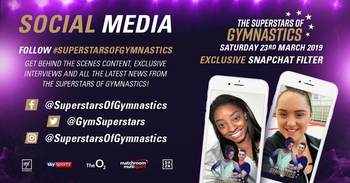 Superstars of Gymnastics on Twitter: