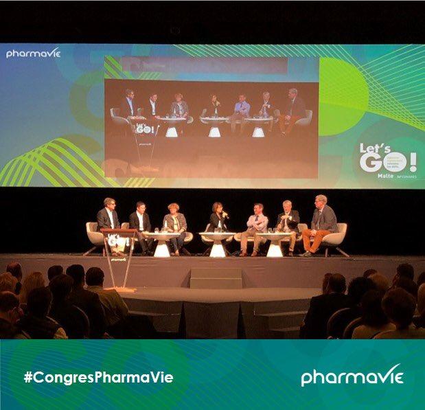 Comment prendre en main la mutation du métier de pharmacien ? #CPTS #Données patients #télémédecine > Nos intervenants apportent des éléments de réponse concrets aux côtés de @drmartineperez. #CongresPharmaVie https://t.co/iAK8IGPMUo