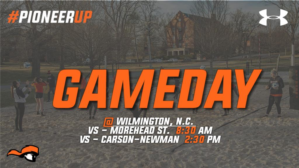 Tusculum University Beach Volleyball's photo on #GameDay