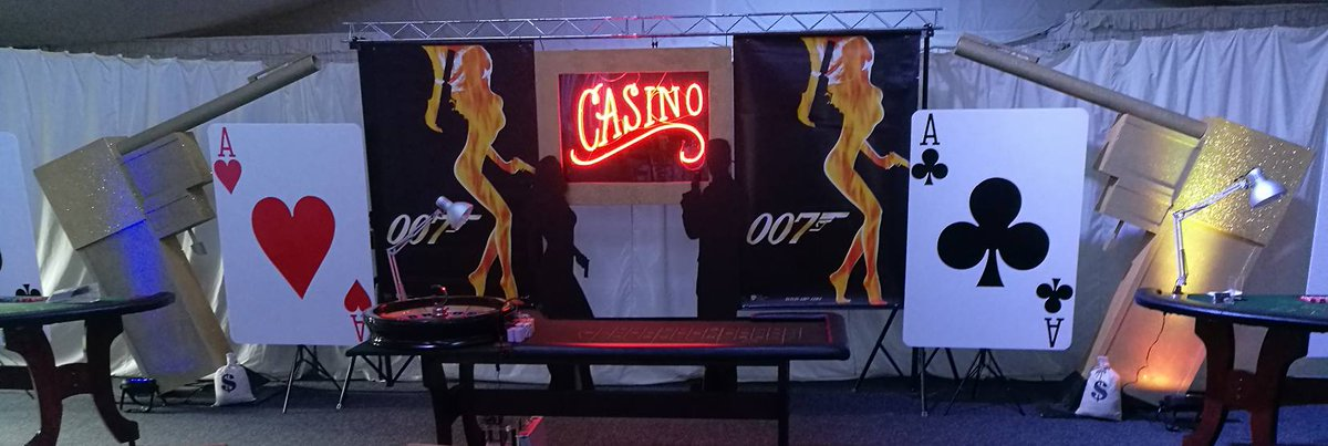Thinking of a themed event..? #JamesBond or maybe a #Vegas themed party? What about a #funcasino