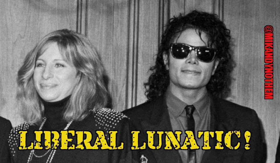 """Liberal lunatic Barbra Streisand is condoning Michael Jackson&#39;s sexual assault on children. She says boys in &quot;Leaving Neverland&quot; were &quot;thrilled to be there"""" and it """"didn't kill them&quot; and his """"sexual needs were his sexual needs."""" #MAGA #Tcot #SaturdayMorning #SaturdayMotivation<br>http://pic.twitter.com/nqmeFN8FeH"""