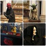 Image for the Tweet beginning: Exposición Universo Star Wars en