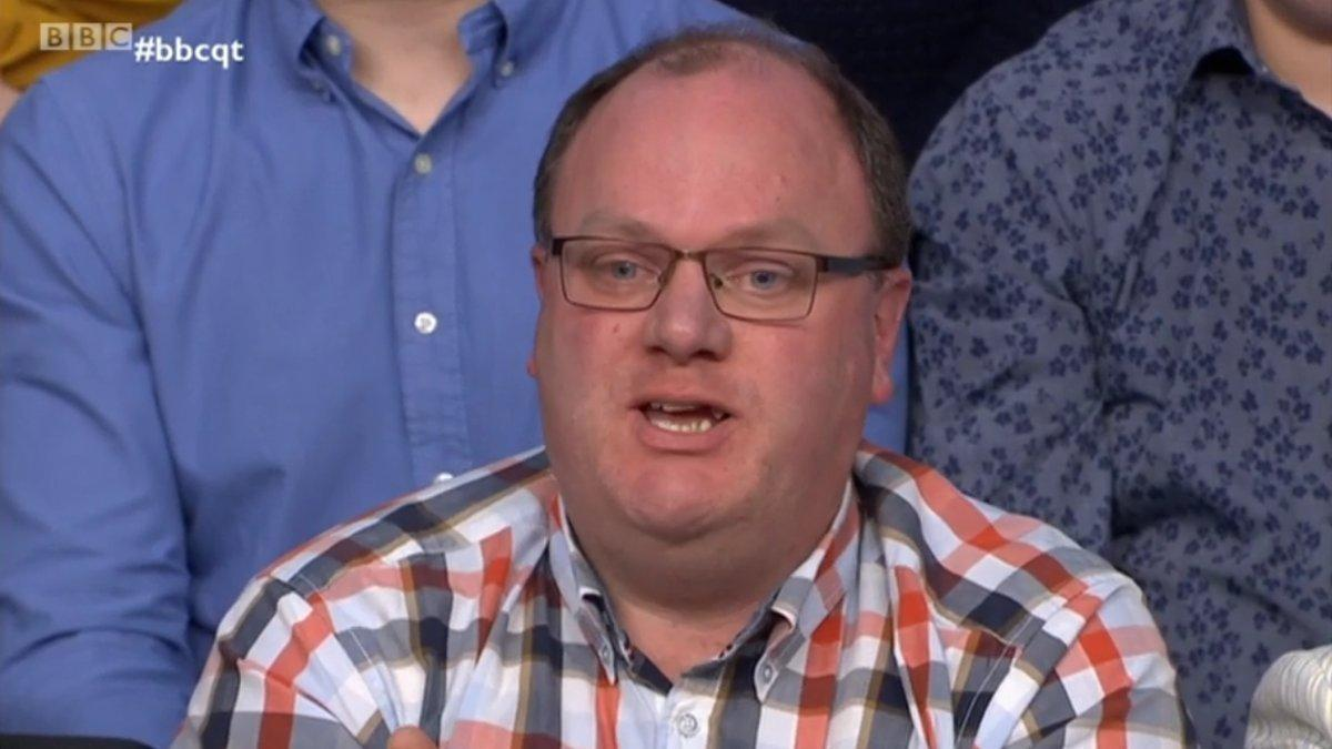 &quot;Theresa May is right. Britain voted for pain, and that is exactly what must be delivered. Cut my life in to pieces. This is May&#39;s last resort: suffocation, no breathing. Otherwise I will attack my ex-wife&#39;s washing line in a fit of mad fury.&quot;  - Kevin from Keynsham   #bbcqt <br>http://pic.twitter.com/3kbsyUMO69