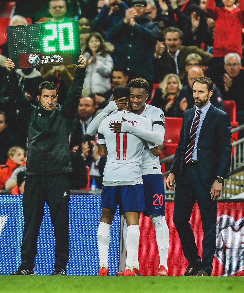 📅 @CalTeck10's Last 12 Months:  🔵 Makes @ChelseaFC debut  🏆 Makes @PremierLeague debut  ⚽️ Scores 1st @ChelseaFC goal  ⚽️ Scores 1st @EuropaLeague goal  ⚽️ Scores 1st @EmiratesFACup goal  🏴 Makes @England debut  👶 Youngest player in @England history to earn a competitive cap