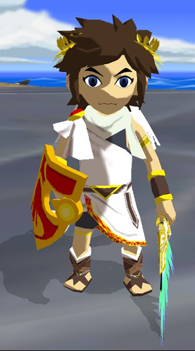 ColBirdstrong brings Pit to #TheLegendofZelda The #WindWaker with