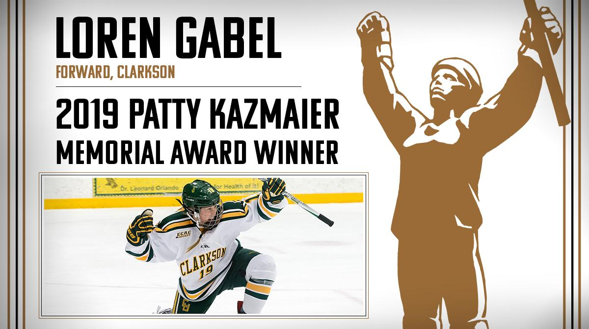 Loren Gabel is the winner of the 2019 #PattyKaz Memorial Award! → bit.ly/2FuHBYj