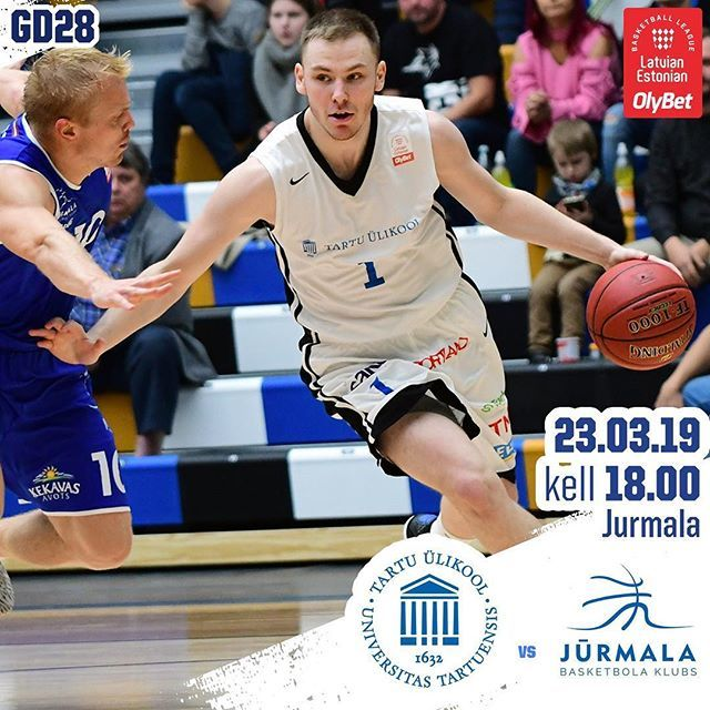 test Twitter Media - Kohekohe ehk kell 18.00 pannakse @bkjurmala vastu pall mängu ja kaalul on OlyBet Latvian-Estonian Basketball League põhiturniiri lõplik koht.  #unitartubasket #tartuülikool #basketball #gameday https://t.co/rQOEBS3sTo https://t.co/kOCO5Oz7aS