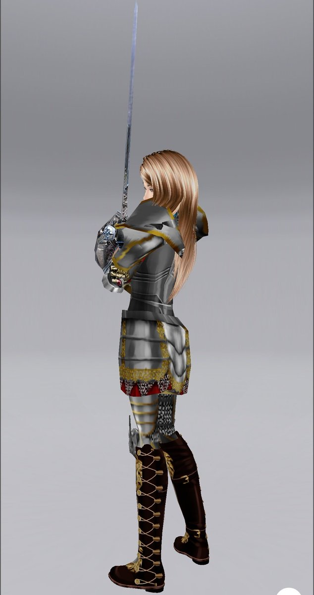 So, have you prepared your costume for the party~? I&#39;ve been spending the rest of the week retouching this armor. <br>http://pic.twitter.com/X9MdTN7nO3
