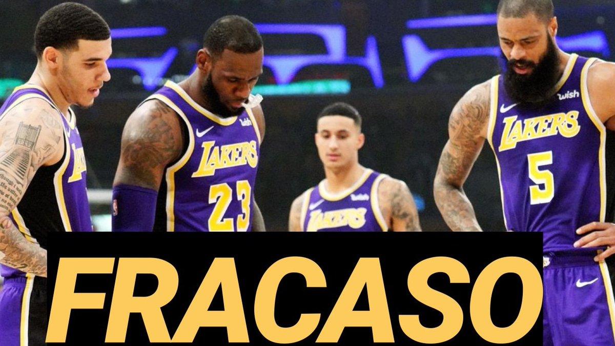 NUEVO VÍDEO | ¿Es un fracaso la 1a temporada de LeBron con #LakeShow ?   @Bang4Three y @PichuRuas lo debaten ⬇️  📺 https://youtu.be/hh7lXC3He0s