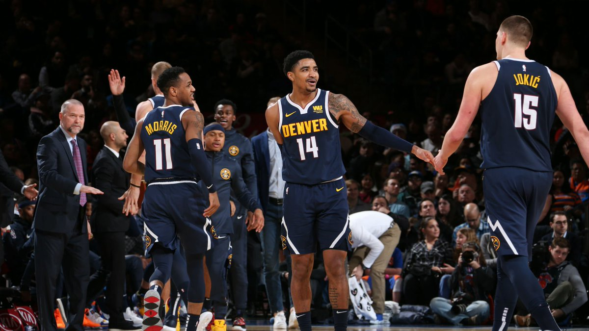 New York City. The only way to play is gritty!   📸   https://on.nba.com/2JwWGMV  #MileHighBasketball
