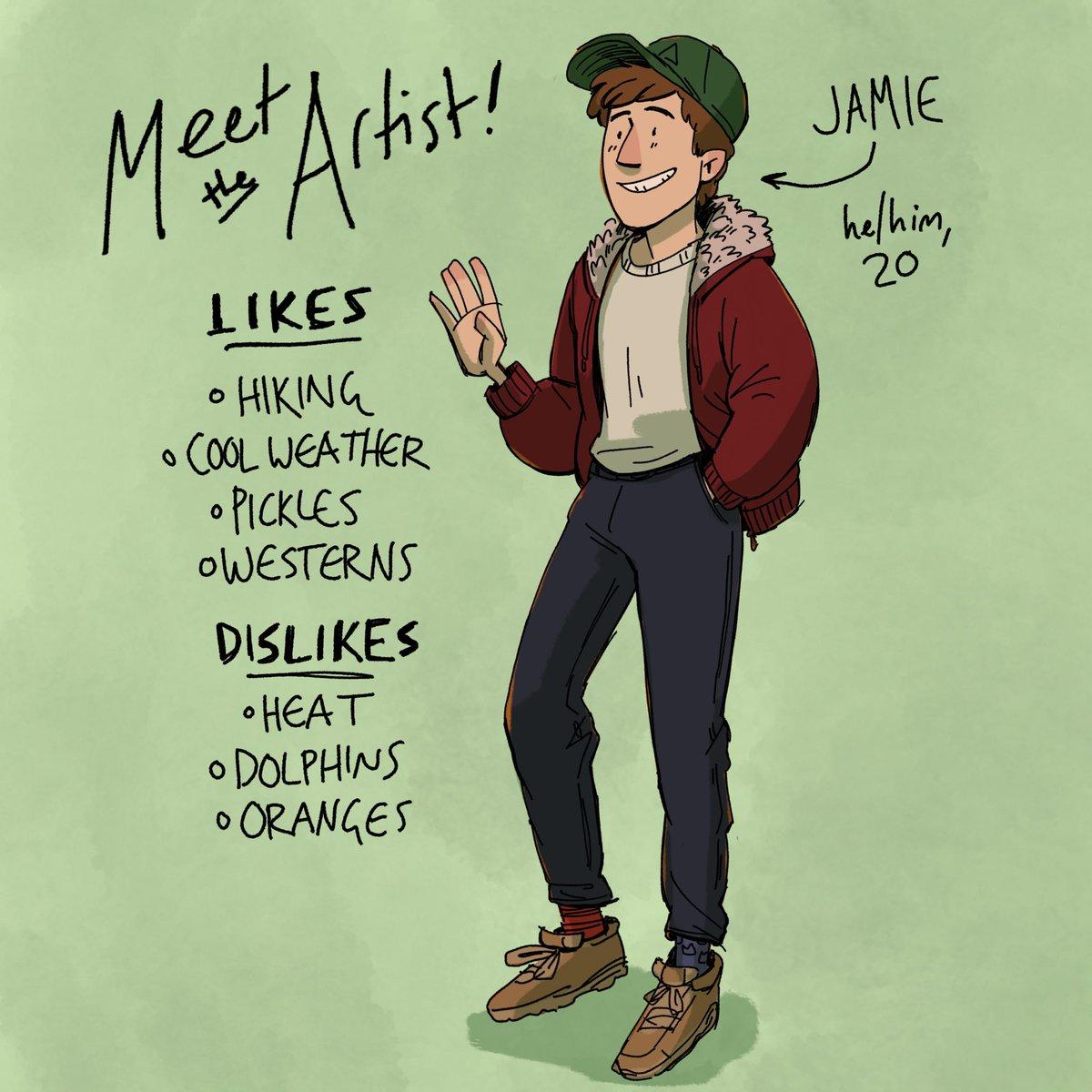 #TRANSMASCARTISTS HEY I'M JAMIE! i draw comics and fantasy stuff <br>http://pic.twitter.com/JDyRQRXHjr