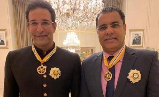 Wasim Akram, Waqar Younis and Yasir Shah conferred civilian awards by the Government of Pakistan