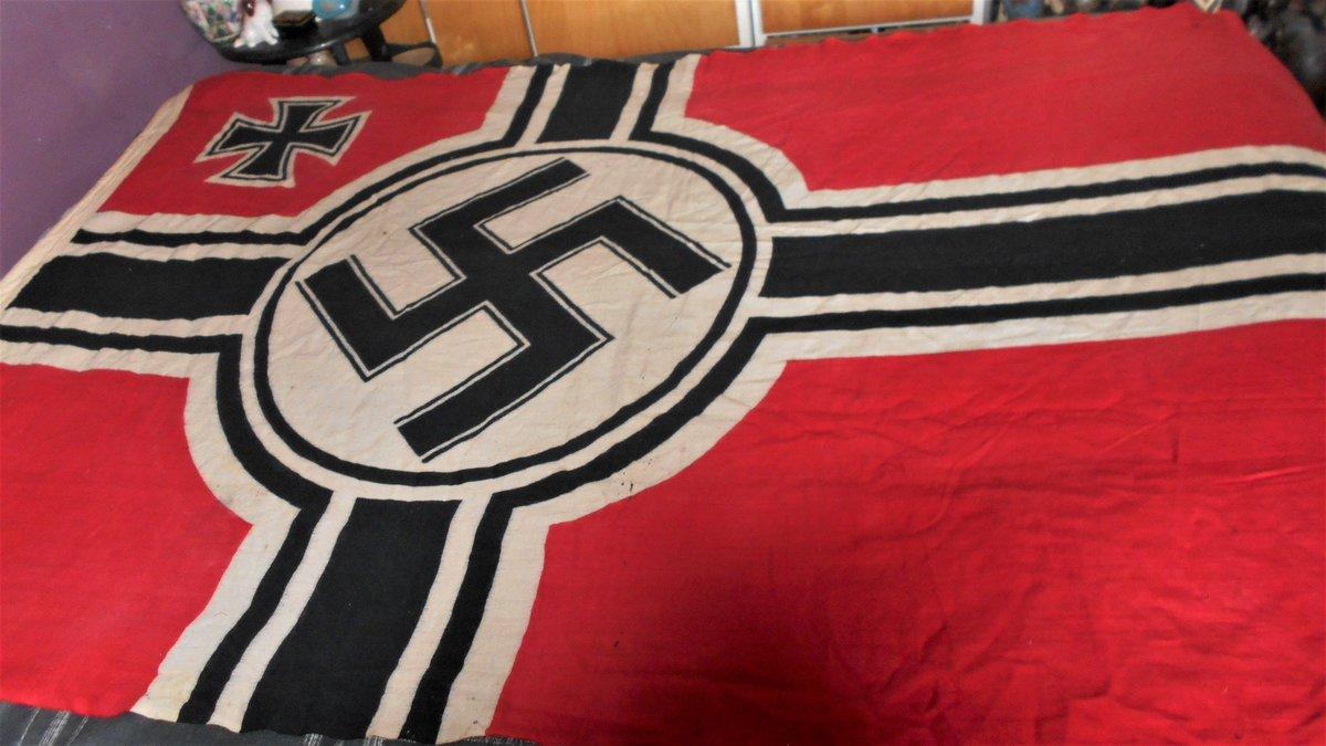 Third Reich Kriegsmarine War Flag (Kriegsflagge) http