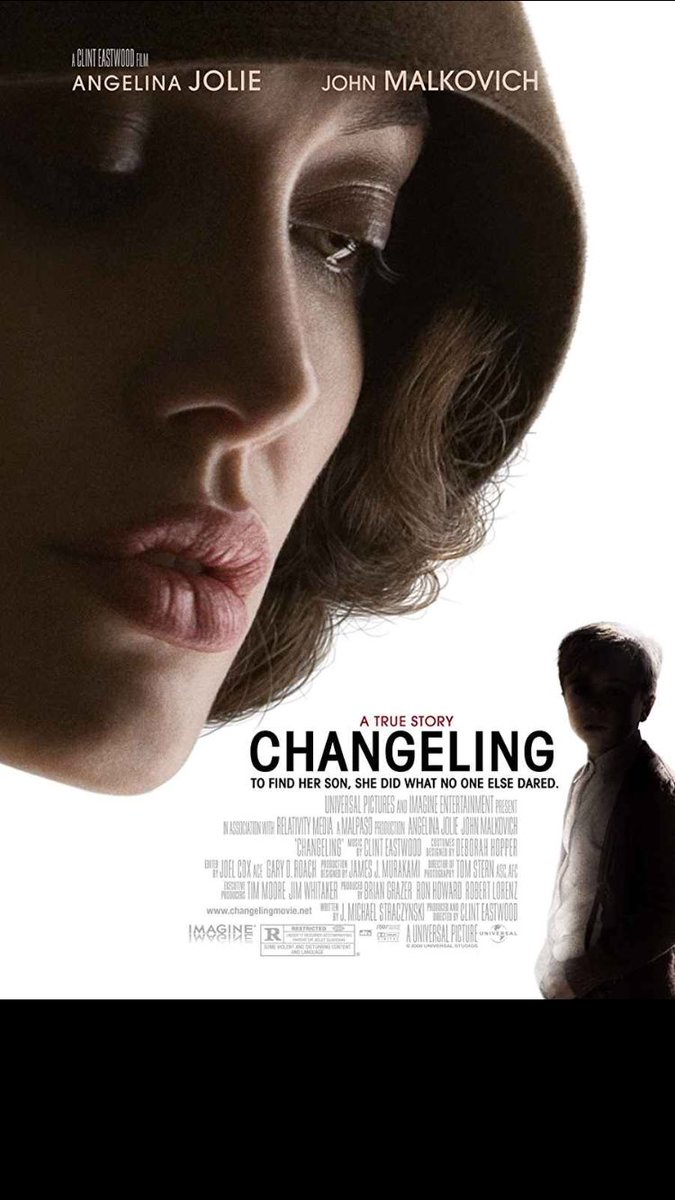 Changeling  Angelina Jolie's best movie of her career, a brilliant acting from her in this movie. <br>http://pic.twitter.com/14xTMLkpnN