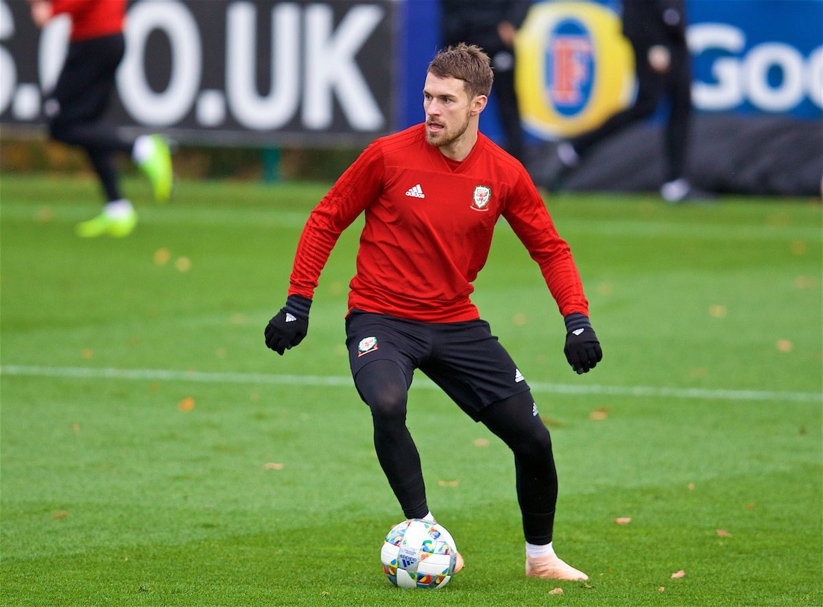 Arsenal midfielder Aaron Ramsey has withdrawn from the Wales International squad due to a minor injury and he will return to London Colney for treatment.  Relatively good news for The Gunners as Aaron will be most certainly fit for Arsenal's clash VS Newcastle on April 1st. #AFC<br>http://pic.twitter.com/CDnISUTwJK