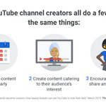 Image for the Tweet beginning: Take a cue from @YouTube
