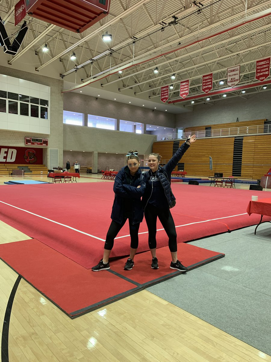 Yale Gymnastics's photo on MEET DAY