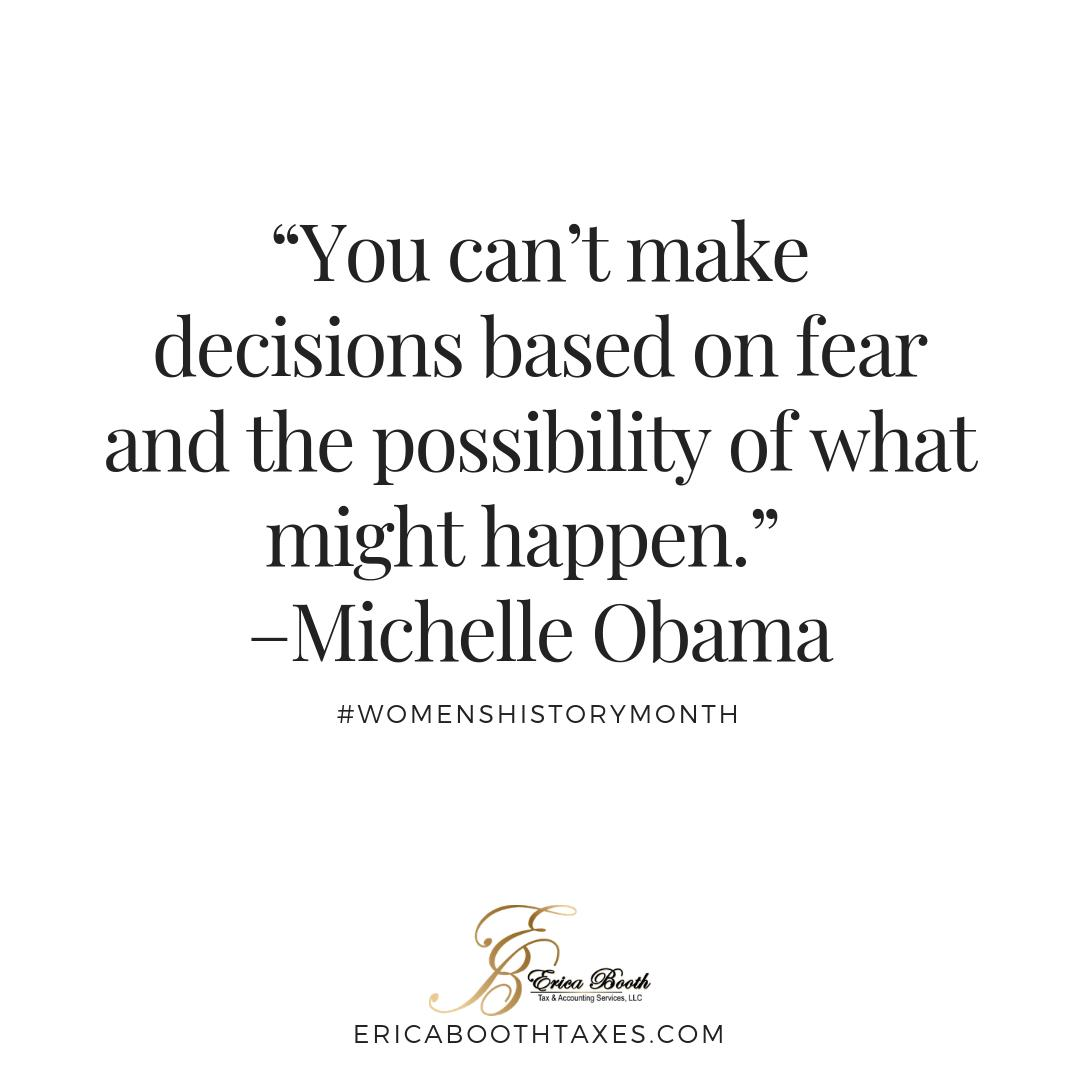 Erica Booth Tax's photo on michelle obama