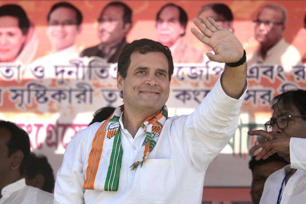 ये सैलाब है राहुल जी को चाहने वाले बंगाल वासियों का...  तस्वीरें मालदा की है, अपने जननेता को सुनने उमड़ी ये भीड़ बता रही है कि वक्त का पहिया किस ओर घूम रहा है, बंगाल से लेकर दिल्ली तक बदलाव की लहर है क्योंकि केंद्र में @RahulGandhi जी जरूरी है ।