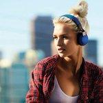 Image for the Tweet beginning: Jabra Move on-ear Bluetooth headphones