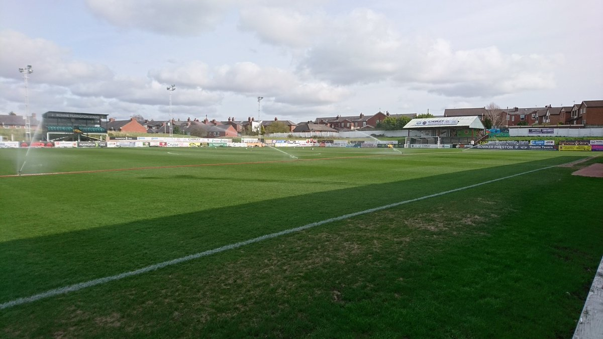 Chorley Fc On Twitter Victory Park In All Its Splendor Just Under 90 Minutes Away From Kick Off