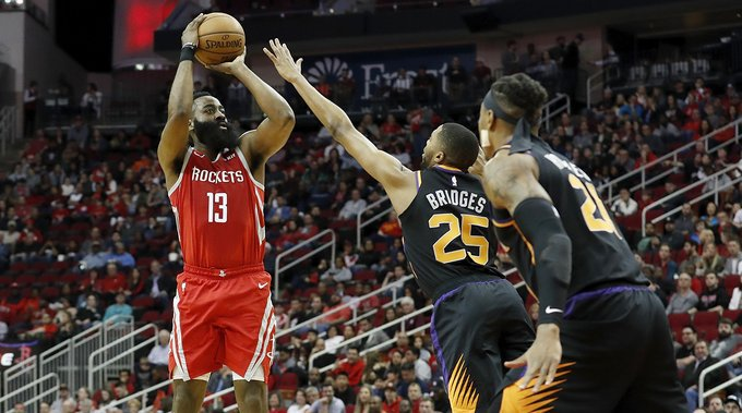 James Harden might not fit the archetype, but he has mastered the three-point shot, writes @RobMahoney http://go.si.com/HMXrara