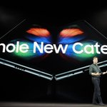 Image for the Tweet beginning: Galaxy Fold only uses Snapdragonprocessors
