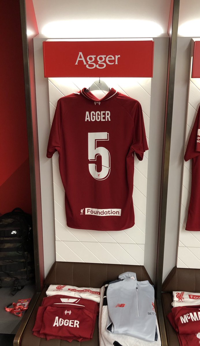 Daniel Agger's photo on #LFCFoundation