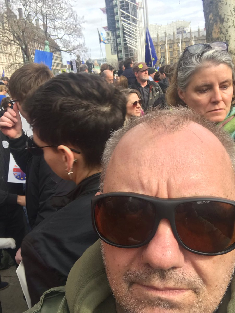 bob mortimer's photo on Parliament Square