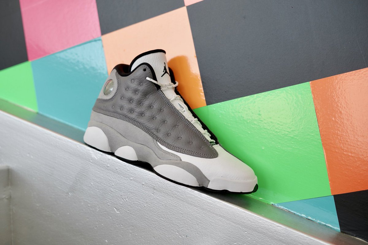 e5043cec76dc6  Jordan Retro 13 dropping in select stores   online today for the whole  family!  styledbyhibbett Shop NOW