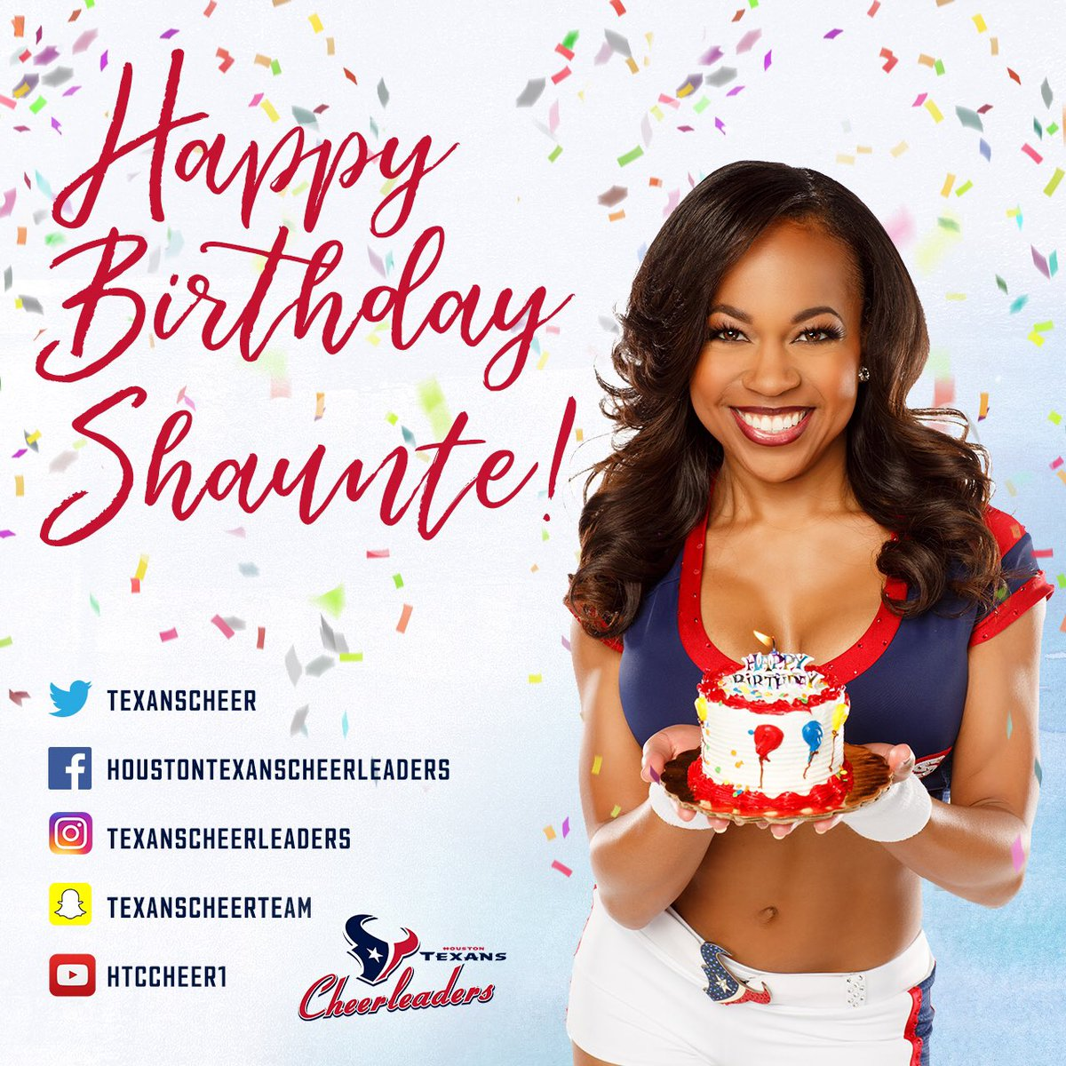 Wishing the lovely Shaunte a wonderful birthday! 💕🎂💕🎂💕