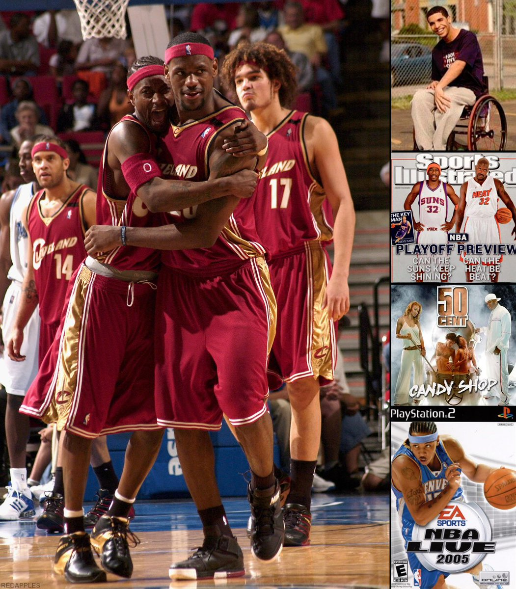How old were you the last time LeBron missed the playoffs (April 2005)?