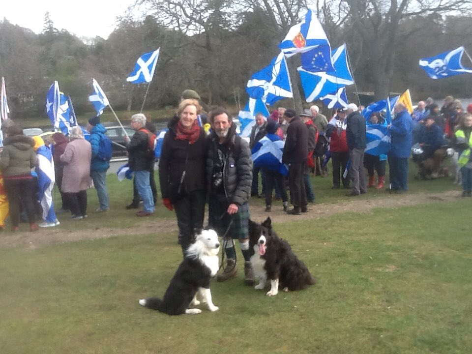 A fine flag-blowing breeze as we gather for the Inverness march in support of our European citizen friends and family <br>http://pic.twitter.com/M1evS2GCfJ