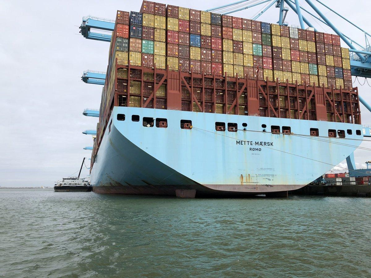 De pilot Clean Shipping is van start gegaan. Maersks containerschip wordt voorzien van brandstof met een groot aandeel Second Generation Biofuel.