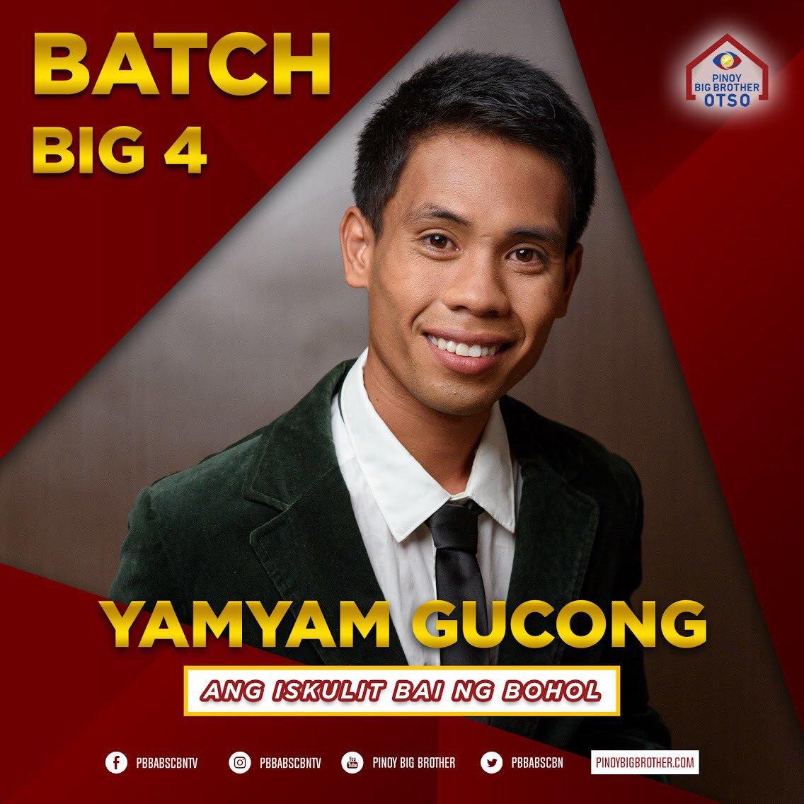 RT @PBBabscbn: Congratulations Yamyam! Ang unang BIG FOUR ng Batch 2 💪💥 #PBB8Batch2BigJump https://t.co/fjiJautNdj