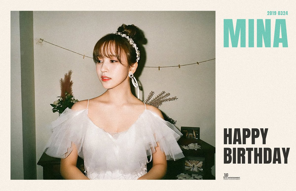 TWICE's photo on #HappyMinaDay