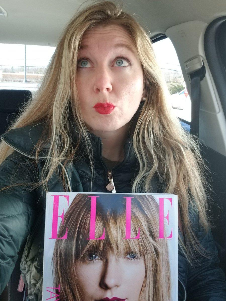 SHE'S MINEEEE 💋 #TaylorxELLE @taylorswift13 @taylornation13