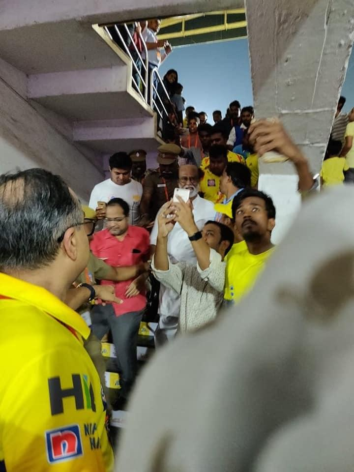 Some Of Recent Clicks Of #Thalaivar On #Chepauk   #ThalaivarSupportCSK  #Yellove #ChennaiSuperKings #Rajinikanth <br>http://pic.twitter.com/bYz42NBE9h